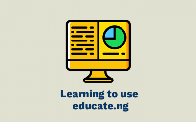 Learning to use educate.ng